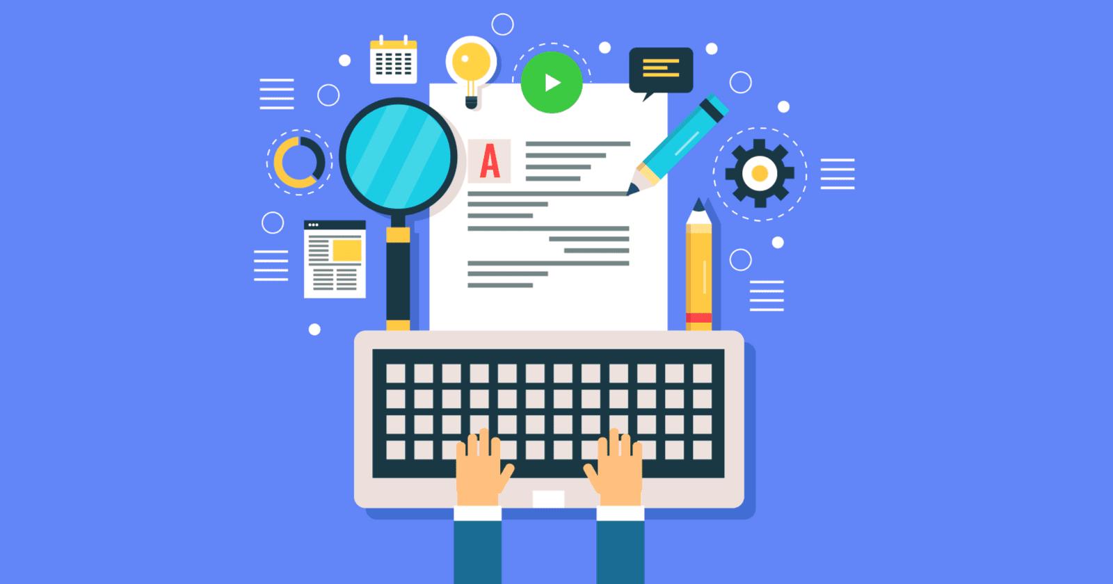 تولید محتوا با اصول سئو برای وبسایت